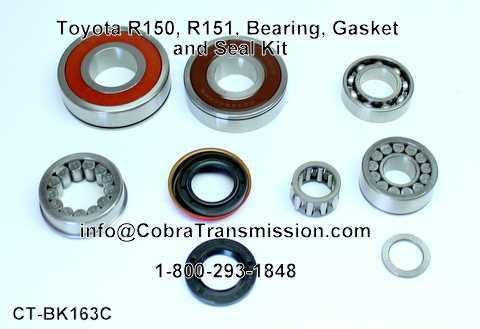 Toyota R150, R151, Bearing, Gasket and Seal Kit