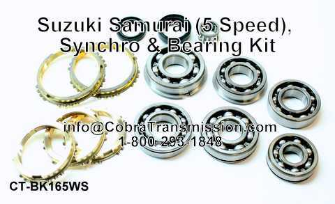 Suzuki Samurai Synchro, Bearing, Gasket and Seal Kit