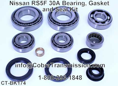 Nissan RS5F 30A Bearing, Gasket and Seal Kit