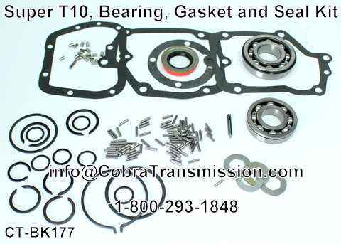 Super T10, Bearing, Gasket and Seal Kit