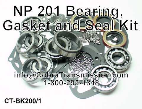 NP 201 Bearing, Gasket and Seal Kit