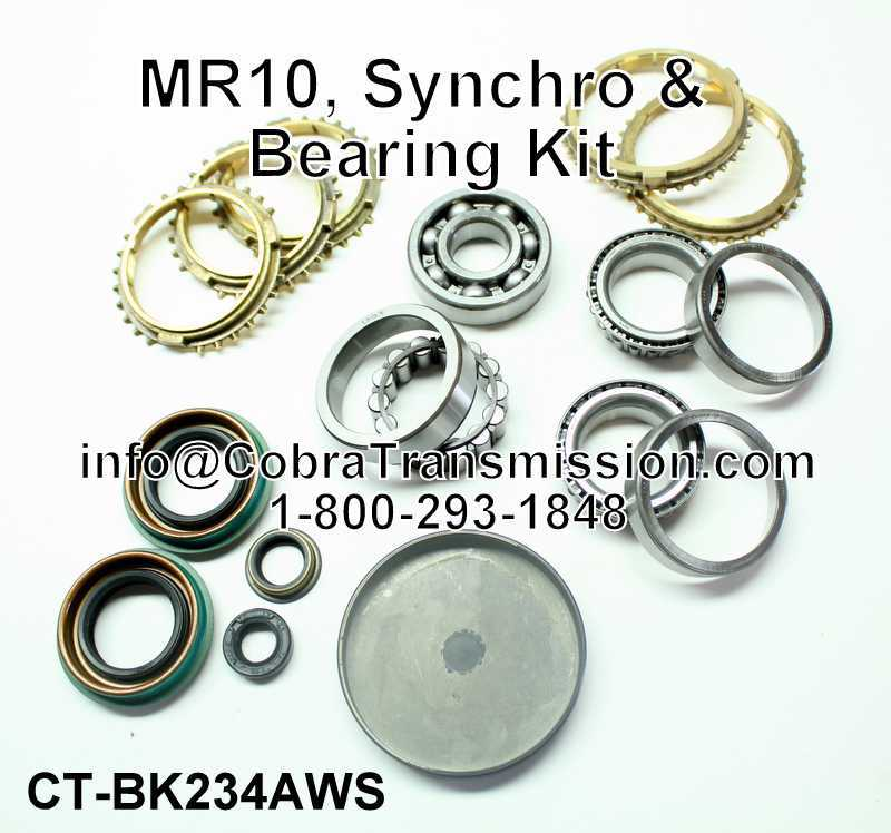 MR10 Synchro, Bearing, Gasket and Seal Kit