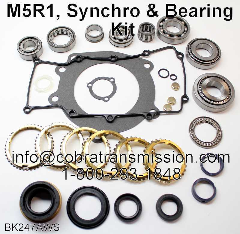 M5R1, Synchro, Bearing, Gasket and Seal Kit
