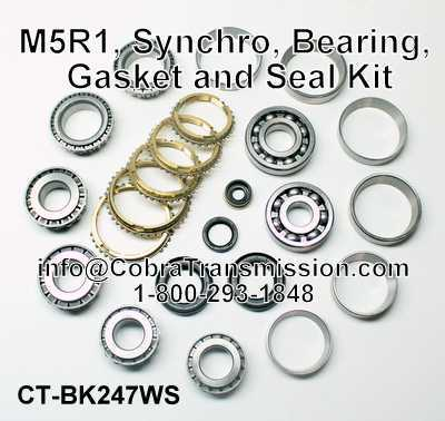 M5R1 Synchro, Bearing and Seal Kit