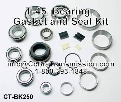 T-45, Bearing, Gasket and Seal Kit
