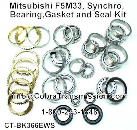 Mitsubishi F5M33, Synchro, Bearing, Gasket and Seal Kit