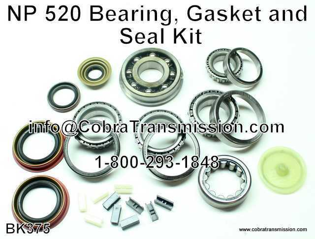 NP 520 Bearing, Gasket and Seal Kit