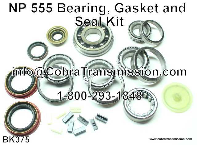 NP 555 Bearing, Gasket and Seal Kit