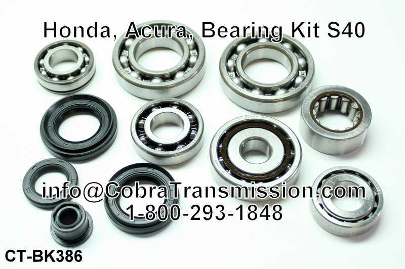 Honda, Acura, Bearing, Gasket and Seal Kit S40