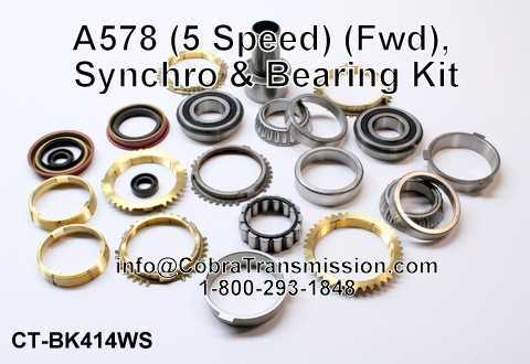 A578 Synchro, Bearing, Gasket and Seal Kit