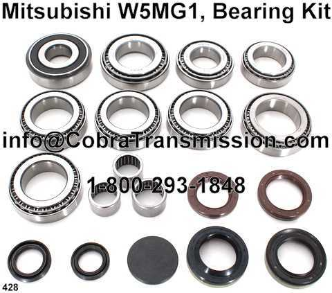 Mitsubishi W6MG1, Bearing, Gasket and Seal Kit