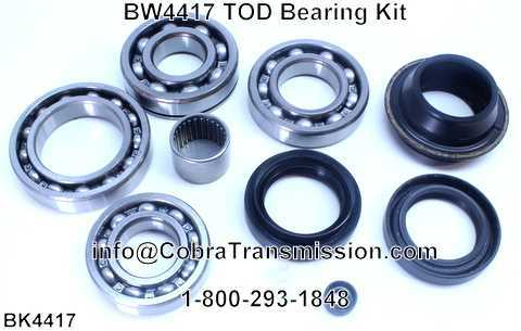 BW4417 TOD Bearing Kit
