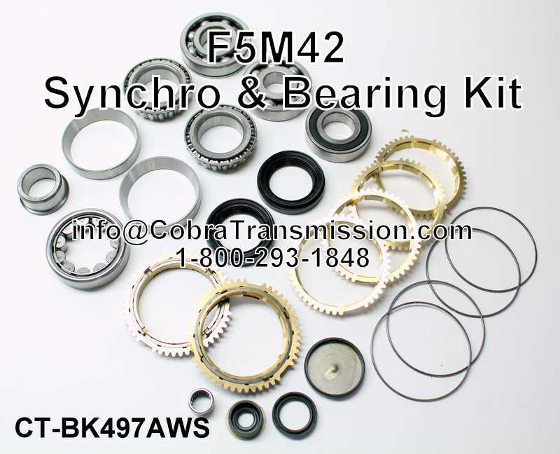 F5M42 Synchro, Bearing, Gasket and Seal Kit
