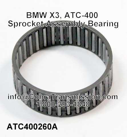 BMW X3, ATC-400 Sprocket Assembly Bearing