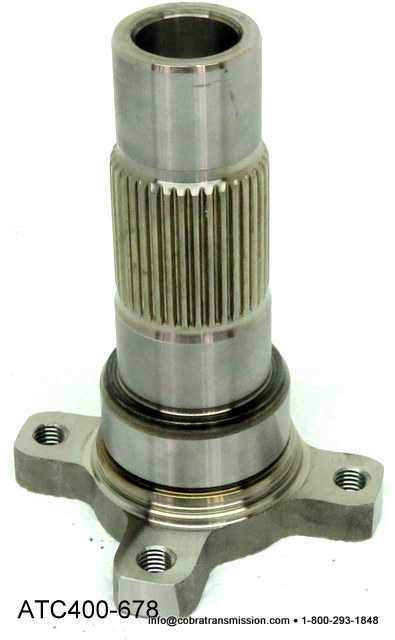 ATC400 Output Shaft - Front