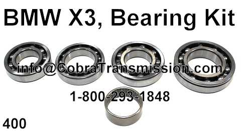 BMW X3, Bearing Kit