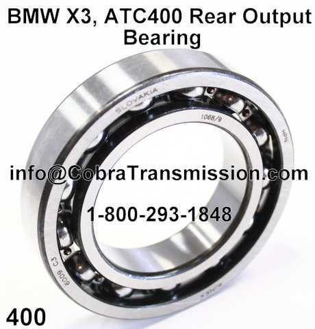 BMW X3, ATC400 Rear Output Bearing