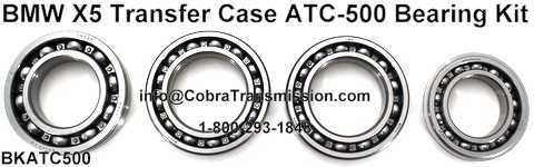 BMW X5 ATC500, ATC700 Bearing Kit