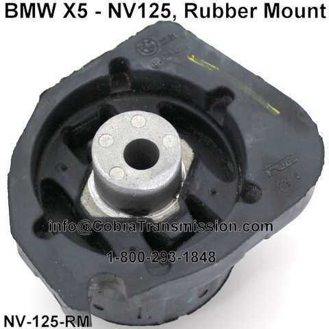 BMW X5 - NV125, Rubber Mount