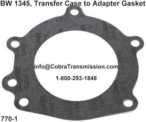 BW 1345, Transfer Case to Adapter Gasket