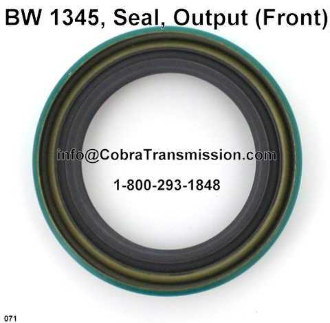 BW 1345, Seal, Output (Front)