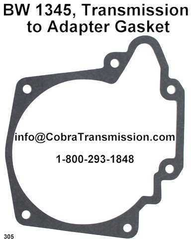 BW 1345, Transmission to Adapter Gasket