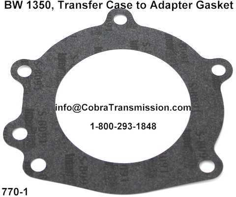 BW 1350, Transfer Case to Adapter Gasket