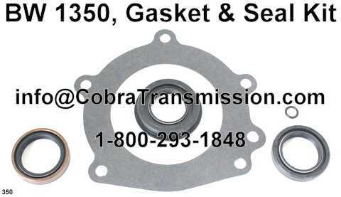 BW 1350, Gasket & Seal Kit
