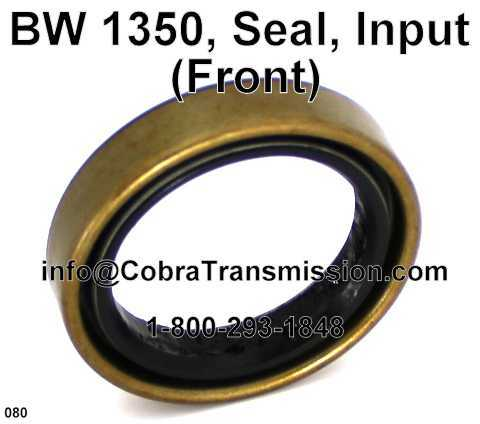 BW 1350,1354 Seal, Input (Front)