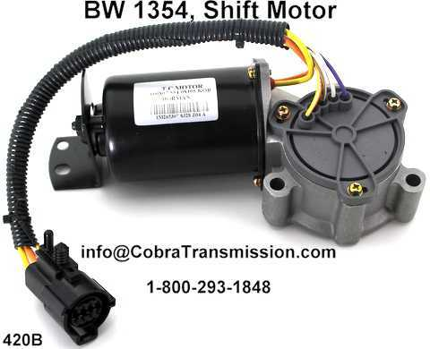 Bw 1354 Cobra Transmission