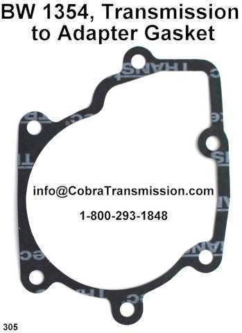 BW 1354, Transmission to Adapter Gasket