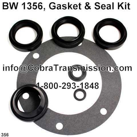 BW 1356, Gasket & Seal Kit