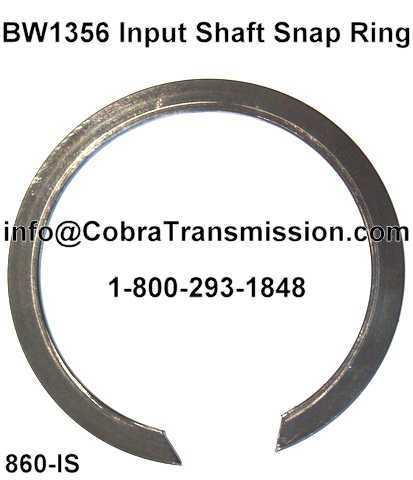 BW1356 Input Shaft Snap Ring
