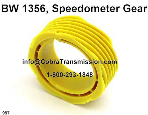 BW 1356, Speedometer Gear
