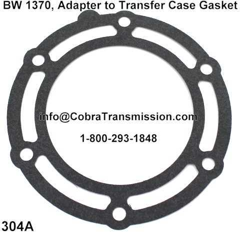 BW 1370, Adapter to Transfer Case Gasket