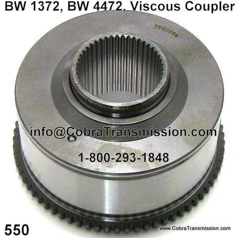 BW 1372, BW 4472, Viscous Coupler
