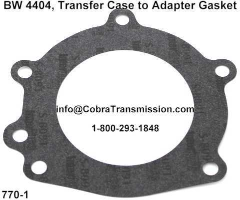 BW 4404, Transfer Case to Adapter Gasket