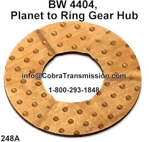 BW 4404, Planet to Ring Gear Hub