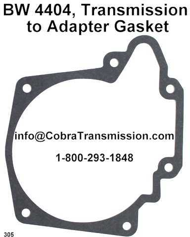 BW 4404, Transmission to Adapter Gasket
