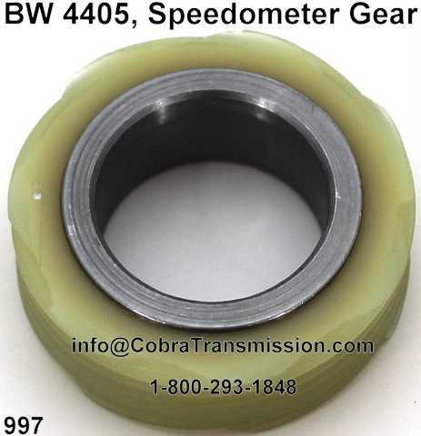 BW 4405, Speedometer Gear