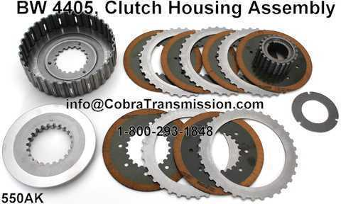 BW 4405, Clutch Housing Assembly