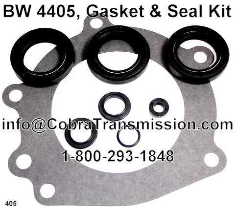 BW 4405, Gasket & Seal Kit