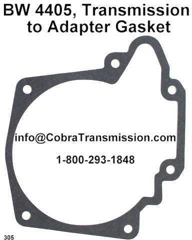 BW 4405, Transmission to Adapter Gasket
