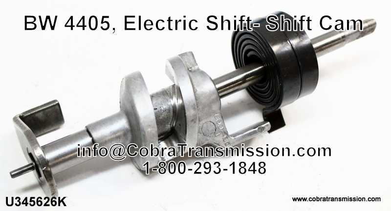 BW 4405, Electric Shift- Shift Cam
