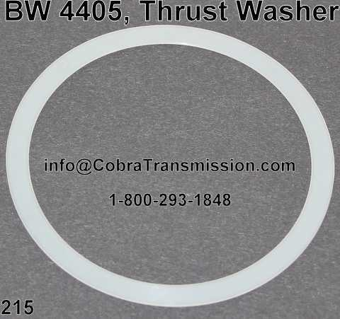 BW 4405, Thrust Washer