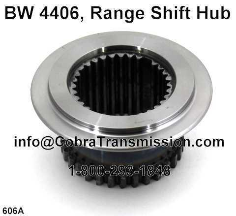 BW 4406, Range Shift Hub