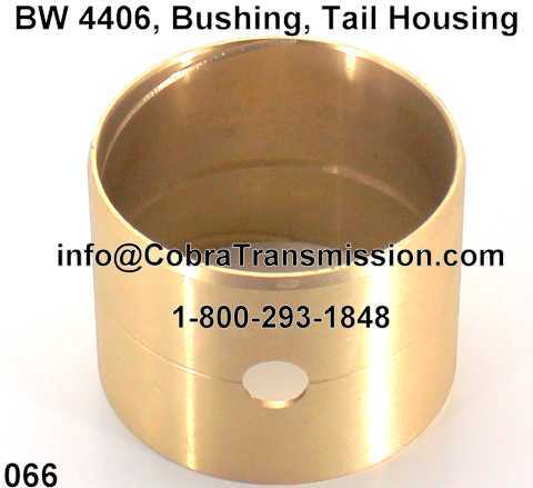 BW 4406, Bushing, Tail Housing