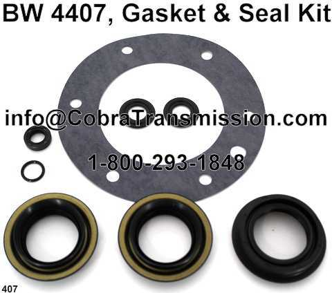 BW 4407, Gasket & Seal Kit