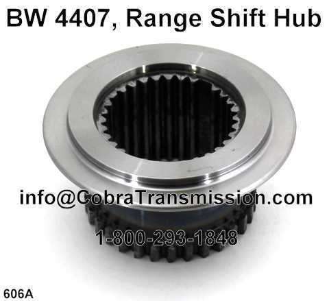 BW 4407, Range Shift Hub