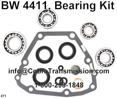 BW 4411, Bearing Kit
